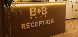 B+B York Reception